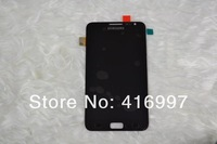 For Samsung  N7000 I9220 Galaxy Note LCD with black glass touch screen digitizer replacement part Free shipping