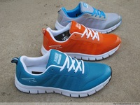 Free shopping 2013 the new fashion man breathable mesh cloth shoes light men athletic shoes