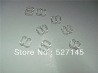 500Pcs/Lot Clear Garter & Bra Strap Sliders 10mm CPAM free shipping