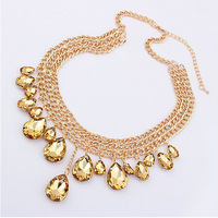 Latest Fashion European And The Unite States Exaggerated Fashion Alloy Necklace Jewelry Free Shipping N218
