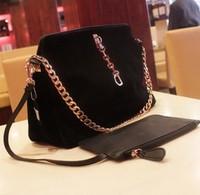 Original Top sell 2013 Promotion HOT Fashion women's handbag PU Frosted Genuine leather scrub shoulder bag cowhide women's bag