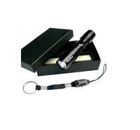 MOQ:1PC /LOT Flashlight LED  lighting Small Flashlight home LED mini flashlight with Gift Box Free shipping