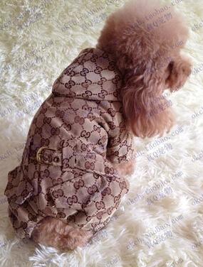 Livraison gratuite! Nouvelle combinaison d'hiver pour animaux de compagnie, vêtements pour chiens avec ceinture. Manteau d'hiver de coton, chaud, belle, marques de temps.