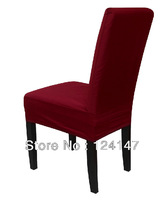 AQ Fashion Cotton yarn card all-inclusive chair cover dining chair professional customize best workmanship winred chair cover