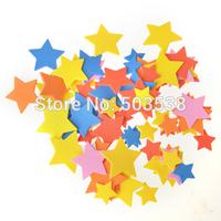 200PCS/LOT.Star stickers,Foam sticker,Adhesive stickers,Wall sticker,DIY crafts,Home decoration,Kids crafts,Birthday gift.