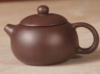 Purple clay teapot yixing teapot xi shi