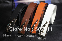 2014 Wholesale Free Shipping  Fashion Jeans Belt New Hot Pattern High-quality Men's Dress Fashion strap Belts for women and man