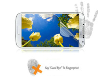 10pcs/lot Super Clear Samsung Galaxy S4 Screen Protector, Anti-Fingerprint Samsung Galaxy I9500 Screen Protectors Free Shipping