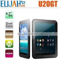 "Original Cube U20GT RK3066 Dual Core Tablet pc 9.7"" IPS 10 Points 1GB/16GB,Bluetooth Dual Camera,HDMI"