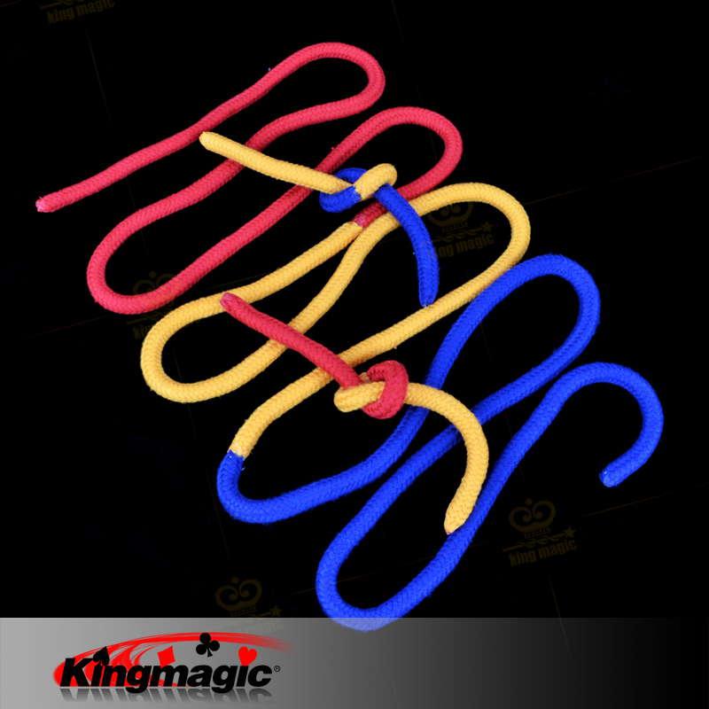 Magic Three Strings-Magic Tricks-King Magic toys stage street magic props(China (Mainland))