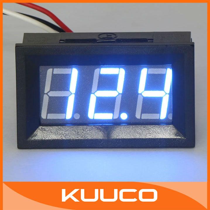 Вольтметр DC V Detector Meter 20 /0,56 DC 0V 99V # 090124 Digital Voltmeter wp6900 digital formaldehyde detector meter hcho