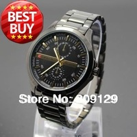 CURREN 8128 Men Round Dial White Stainless Steel Strap Watch For Men (4 kinds of color)