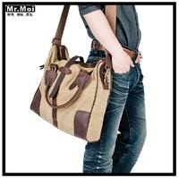 Free shipping 2013 new brand Fashion vintage bag men bags canvas men bag shoulder bag for men messenger bag men handbag SB016