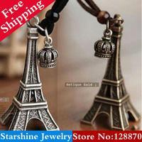 Min Order $5 Mix PL06807 vintage fashion autumn and winter long design necklace