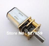 N206V DC gear motor micro motor robot motor speed metal gear box Free shipping