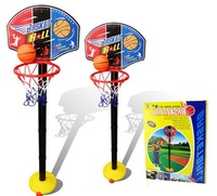 Hot sale elevated type children basketball stands ,kids indoor and outdoor sports toys,  with nice retail boxes,free shipping