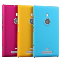 Free Shipping!! Colorful Skidproof Rubber Matte Hard Back Case for Nokia Lumia 925 Frosted Protect Back Cover, NOK-021