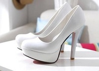 Fashion women japanned leather high-heeled shoes woman female women's platform shoes thick heel princess shoes bridal bestgift