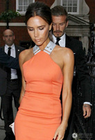 Free Shipping Big Discount 2013 new fashion spring summer season victoria beckham back cross sexy one-piece dress