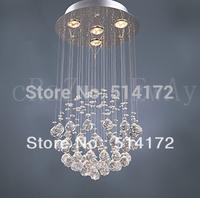 free  shipping  K9 Crystal Chandelier with 4 Lights in Globe Shape led gu10 led lighting crystal