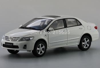 ORIGINAL MODEL 1:18,Toyota New COROLLA 2012,Auris,WHITE