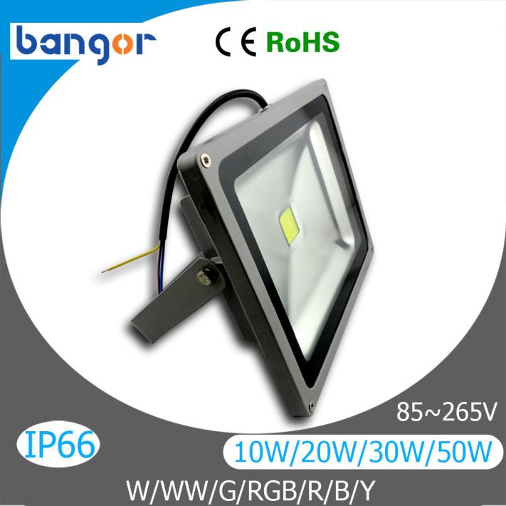 High Power Waterproof 10W 20W 30W 50W 70W 100W LED Flood Light Warm White/Cool White/RGB/Blue/Green/Red/Yellow LED Flood Lamp(China (Mainland))