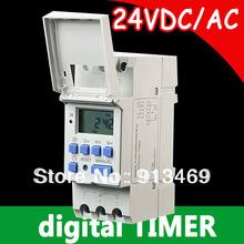 Цифровой программируемый таймер выключатель, Еженедельный реле времени питания 24 В dc, 16A домашней автоматизации, Бытовая техника