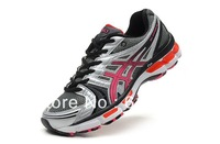 2013Free Shipping Brand Name GEL-KAYANO 18 Men Men Athletic Shoes Breathable Sneakers Sport Shoes