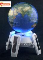 Free shipping New arrive white color base, Solar Globe  BP-G-DG02  solar tellurian
