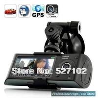 Free shipping 2013 NEW X3000 Full HD H.264 HDMI 1920*1080P GPS car camera 140 G-sensor IR LED Night Vision Car DVR