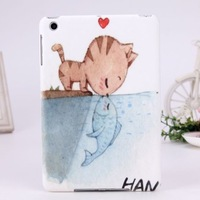 In Stock!2013 New cartoon design Patterned Protective case cover Shell for IPad Mini,free shipping