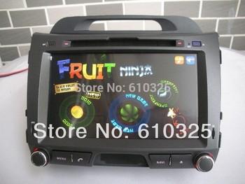 "8"" Car Radio Audio DVD PC Android 4.4.2 For KIA SPORTAGE 2010~Up GPS Retail/PC Free Shipping"