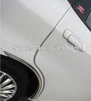 25ft 25 Feet Chrome Silver U Style Styling Auto Vehical Car Trim  DIY Door Edge Guards Protectors Trims