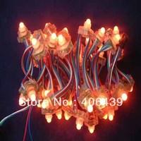 12mm led pixel module light,WS2801,DC5V input,IP68;50pcs a string;IP68,square shape,WS2801 pixel node