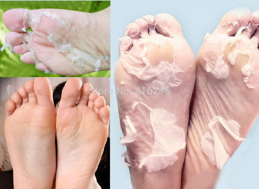 4pairs/lot Free Shipping New Bag Packing Exfoliating Foot/Feet Mask Foot Skin Care(China (Mainland))
