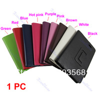 New Folio Synthetic Leather Case Cover Stand For Asus Memo Pad ME172V Tablet
