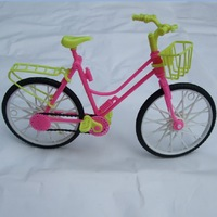 wholessales 5pcs/set free shipping girl birthday special gift bike accessories for barbie doll