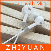 1PCS 3.5mm Stereo Phones Earphone with Mic + Line Control for For xiaomi MI2 MI2S MI2A Mi1S M1 Headphone Earpods
