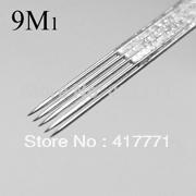 9M1 tattoo needle 50pcs/box free shipping,sterilized tattoo needle supplie wholesale Magnum