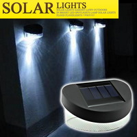Solar lights led garden light outdoor super bright solar street light fence lamp wall lights fence lamp landscape lamp