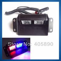 New 12V Bright 6LED Car LED Strobe Light 6W Shovel Lamp Warning Light