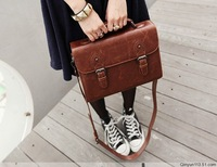 Fashion vintage preppystyle bags 2014 women's handbag briefcase bag women's tote bag messenger bag