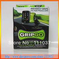 MINI GRIPGO Universal Car Phone Mount instantly grips any phone or GPS 100pcs(with retail box)