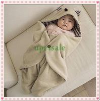 Retailsale Freeshipping baby sleeping blanket Warm baby bag sleepsacks Multi-functional newborn embrace blanket