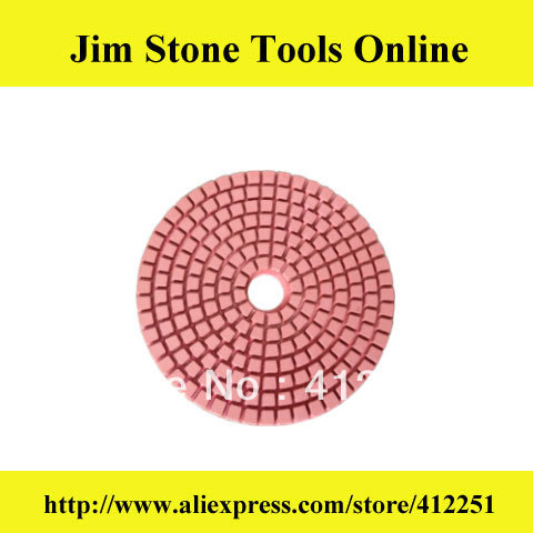 "Free Shipping 4"" Flexible Granite Polishing Pads MOQ 70 Pcs(China (Mainland))"