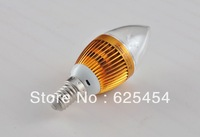 led e14 4PCS/Lot Long life and high brightness 4WE14single crystal crystal lamp mouth LED energy-saving lightbulbs