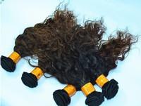 "Free shipping.16""fashion AAAAA quality hair 100%European hair.deep wave,100g/Pc.Thick and Full end"