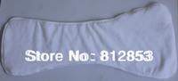 (100pcs/lot)reusable adult cloth diaper inserts 3layers of microfiber S,L