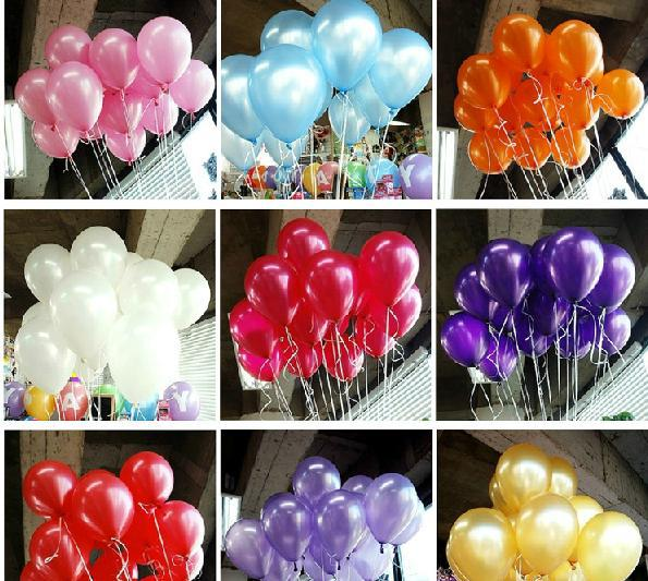 Wholesale 100pc/lot 10' Inch1.5g Helium Latex Balloons Party Wedding Birthday Christmas Event Decoration Balloon Free Shipping(China (Mainland))