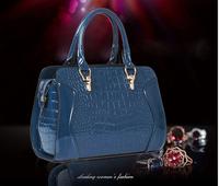 Hot Sale Women Handbag 2014 Luxury OL Lady Crocodile pattern Shoulder Bag handbags fashion brand high quality HD04